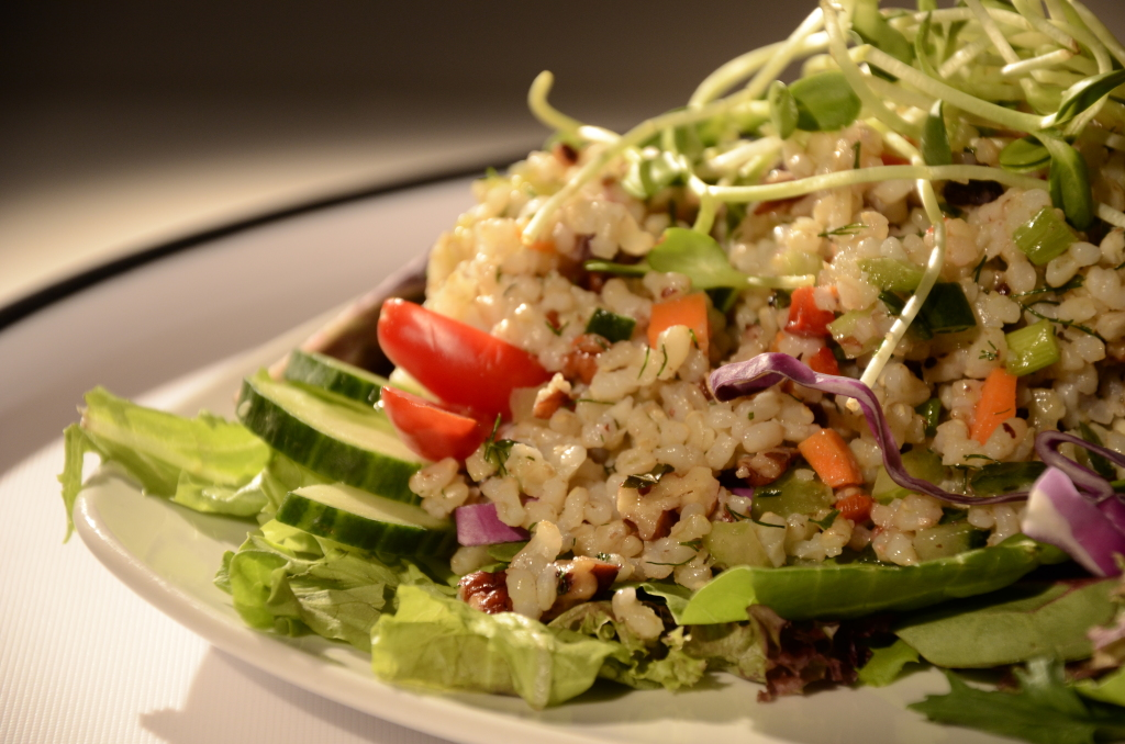 Brown Rice Salad (GF/SF)